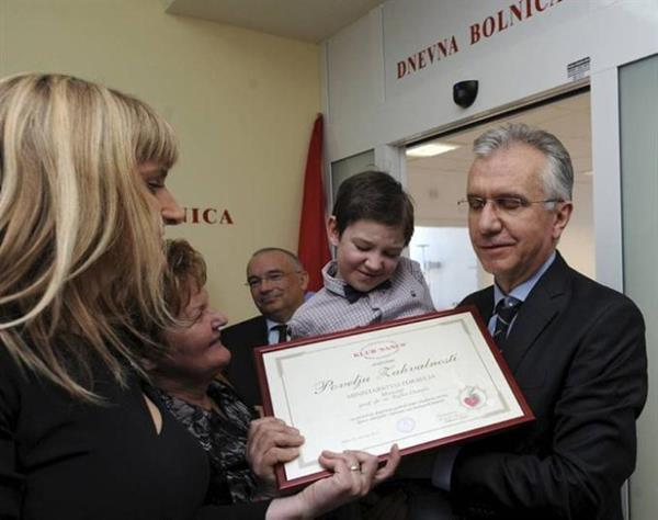 Pediatric oncology day hospital opened in Split