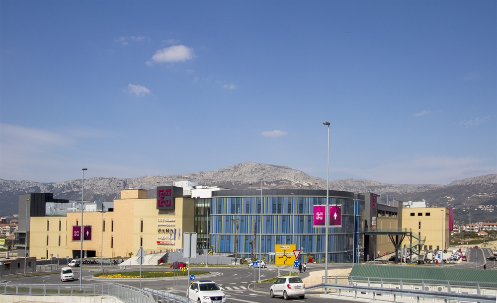 Grand opening of the shopping centre Mall of Split