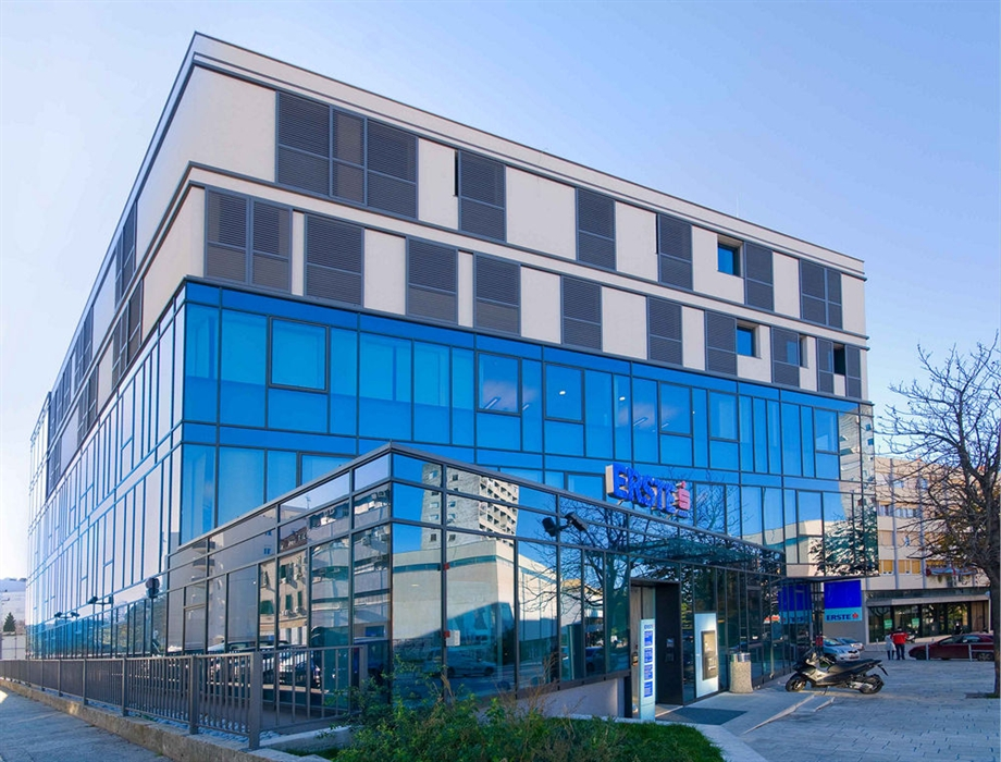 Erste Bank Office Building Gunduliceva Street Split Tromont